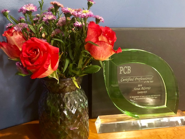 "RR Founder & ED Awarded Pennsylvania Certification Board ""2019 Professional of the Year."""